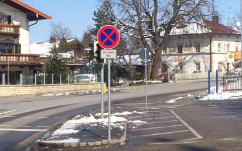 Schulbushaltestelle in Grosshartpenning