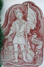 Der Heilige Sankt Florian zu Gast in Waakirchen